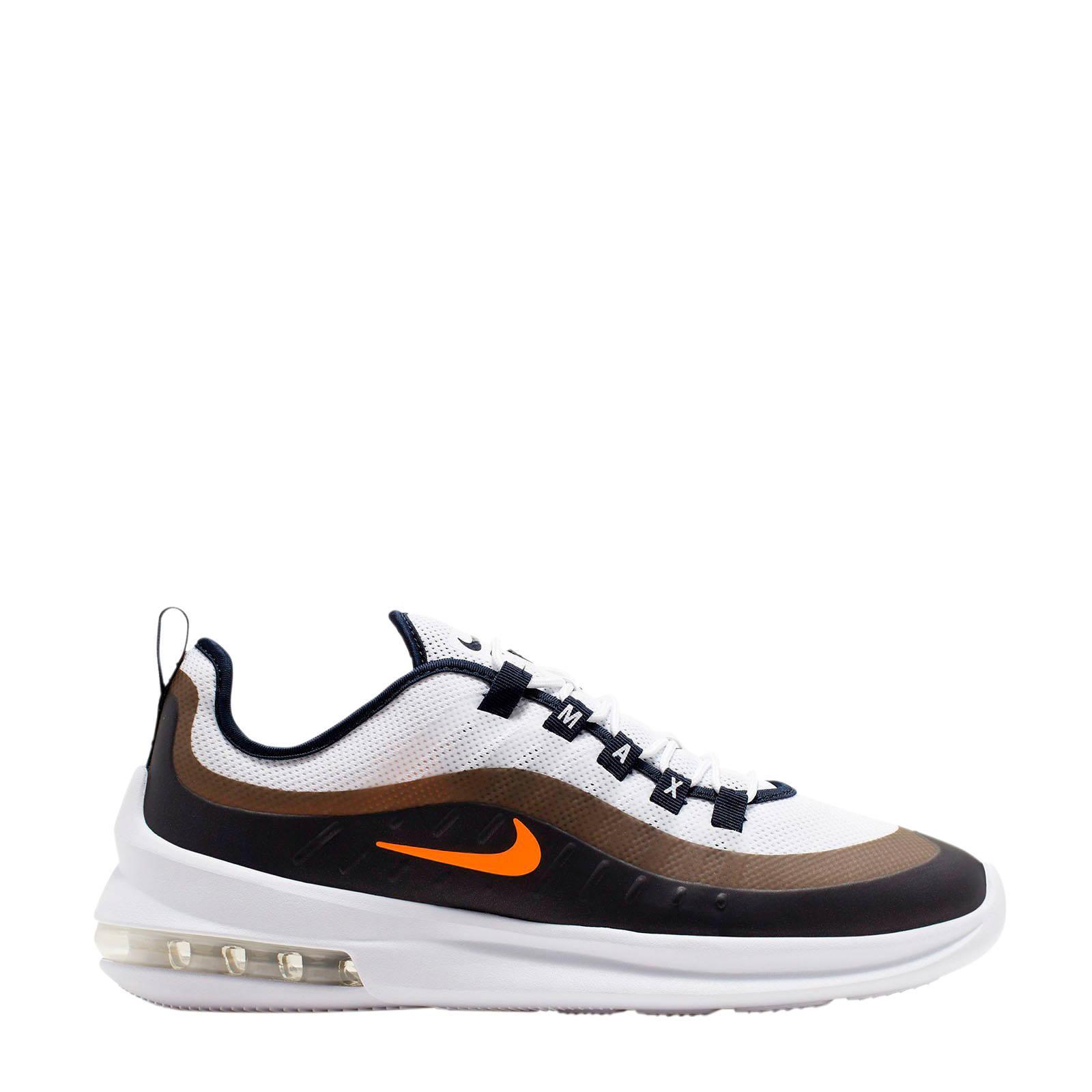 Nike Air Max Axis Sneaker Wit Zwart Oranje