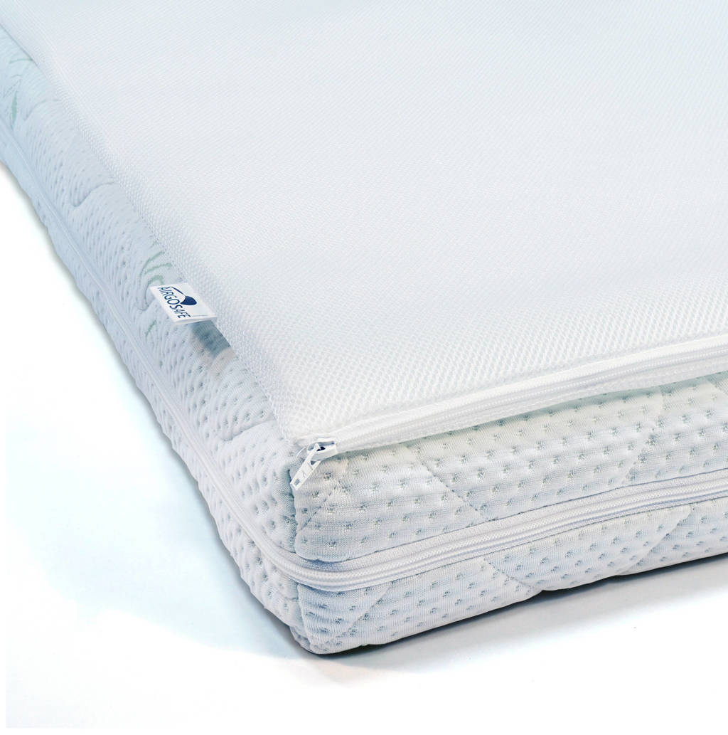 ABZ Airgosafe matrasbeschermer topper 70x140, Wit