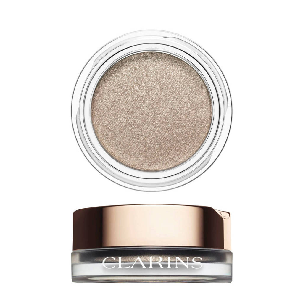 Clarins Ombre Iridescente oogschaduw - 04 Silver Ivory, 04 - Silver Ivory