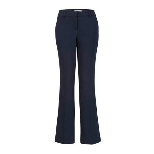 Steps flared pantalon blauw