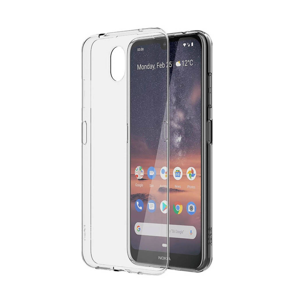 Nokia backcover, Transparant
