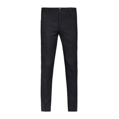 WE Fashion slim fit chino black uni