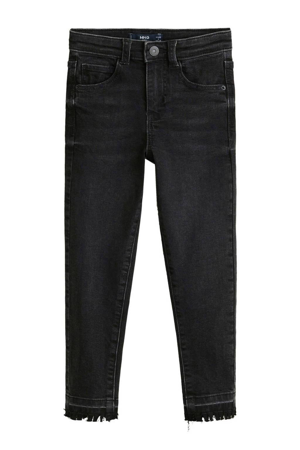 Mango Kids skinny jeans, Zwart