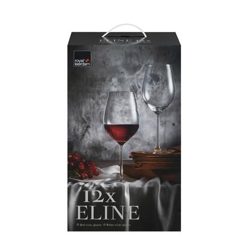 Royal Leerdam Eline wijnglazenset 12-delig