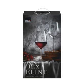 Eline wijnglazenset (set van 12)
