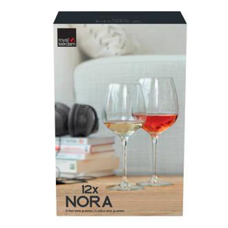 Nora wijnglazenset (set van 12)