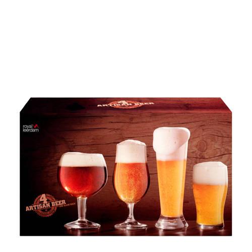 Royal Leerdam Speciaal bier combibox glazenset (se
