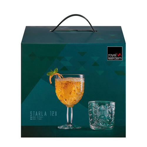 Royal Leerdam Starla wijn en water glazenset (set