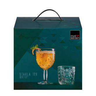 Starla wijn en water glazenset (set van 12)