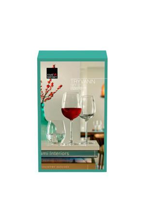 Tryvann combibox glazenset (set van 12)