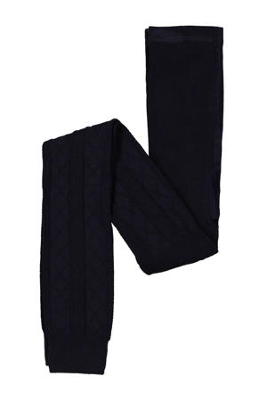 legging Get Another Love donkerblauw
