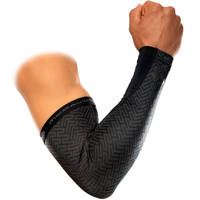 MC David X-fitness armsleeves Dual Layer Compression, Zwart