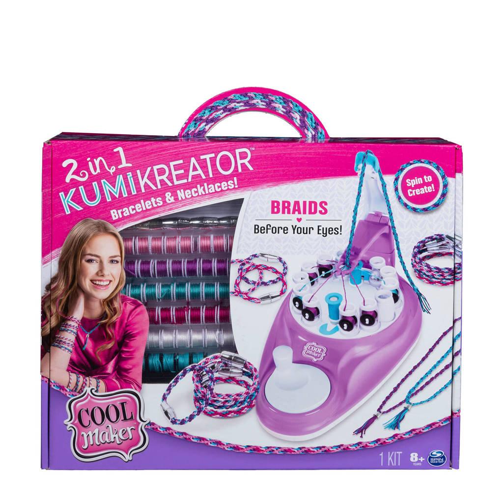 Cool Maker   2-in-1 Kumi Kreator