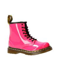 Dr. Martens   1460 Patent T lakleren veterboots roze, Roze