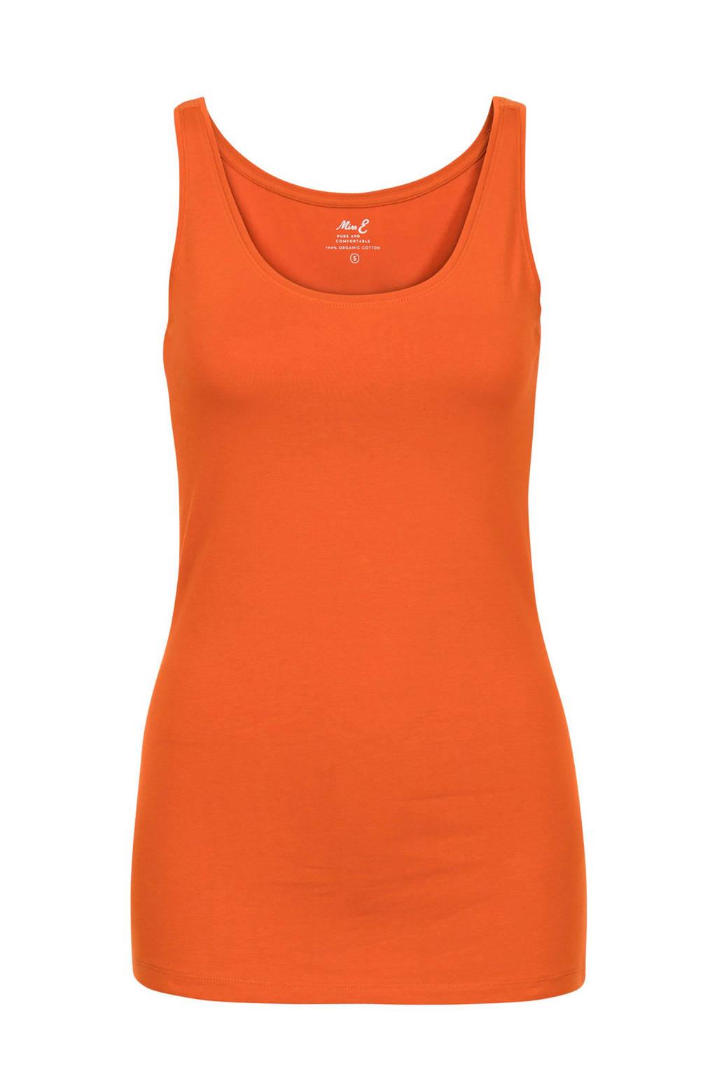 Miss Etam Regulier singlet oranje, Oranje