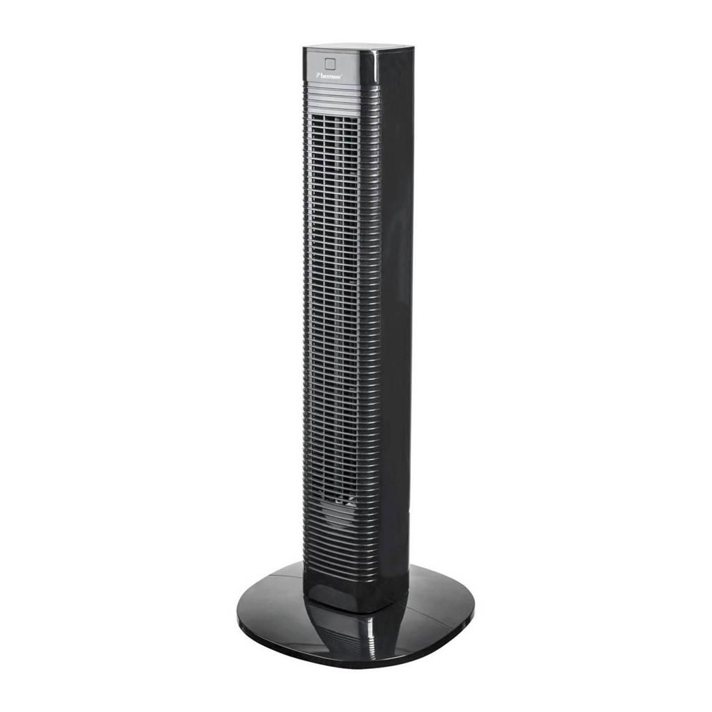 Bestron AFT80ZRC torenventilator, Zwart