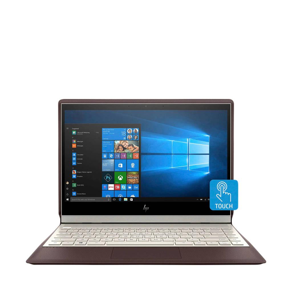 HP  13.3 inch Full HD  2-in-1 laptop Spectre Folio 13-AK0740ND, Bruin, Goud