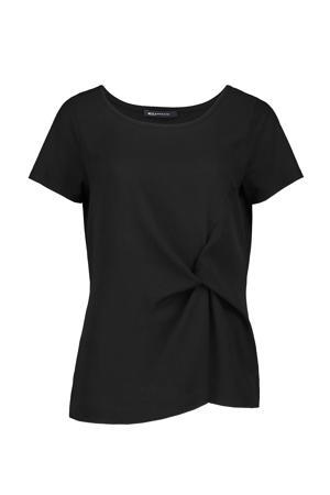 T-shirt Hebelia zwart