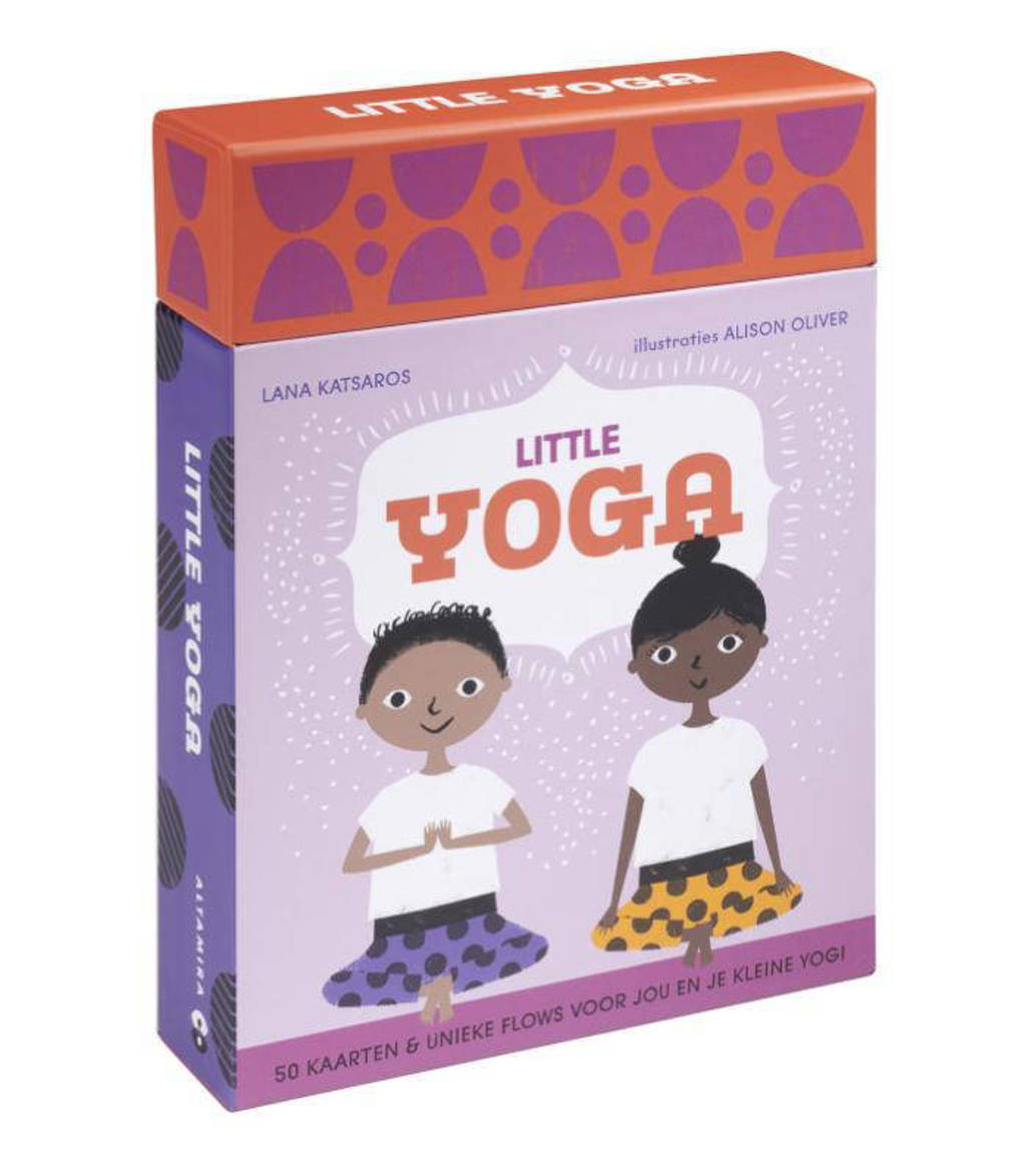 Little yoga - kaartenset - Lana Katsaros