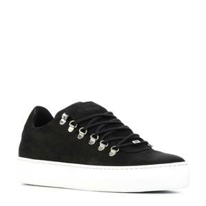 Jagger Classic Nubuck sneakers zwart
