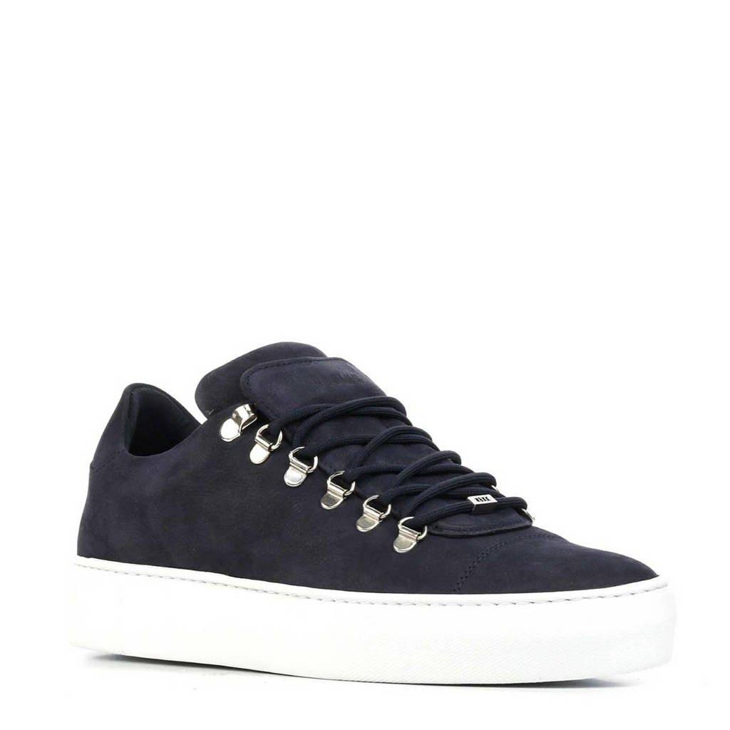 Nubikk  Jagger Classic Nubuck sneakers donkerblauw, Blauw