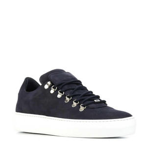 Jagger Classic Nubuck sneakers donkerblauw