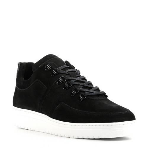 Nubikk Yaye Maze nubuck sneakers zwart