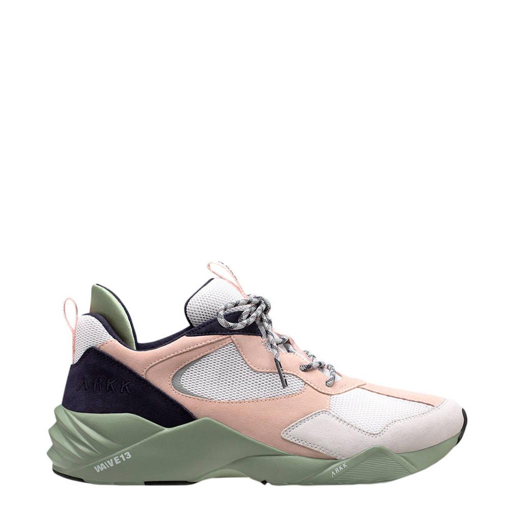 Arkk Kanetyk  sneakers beige/wit, Beige/wit