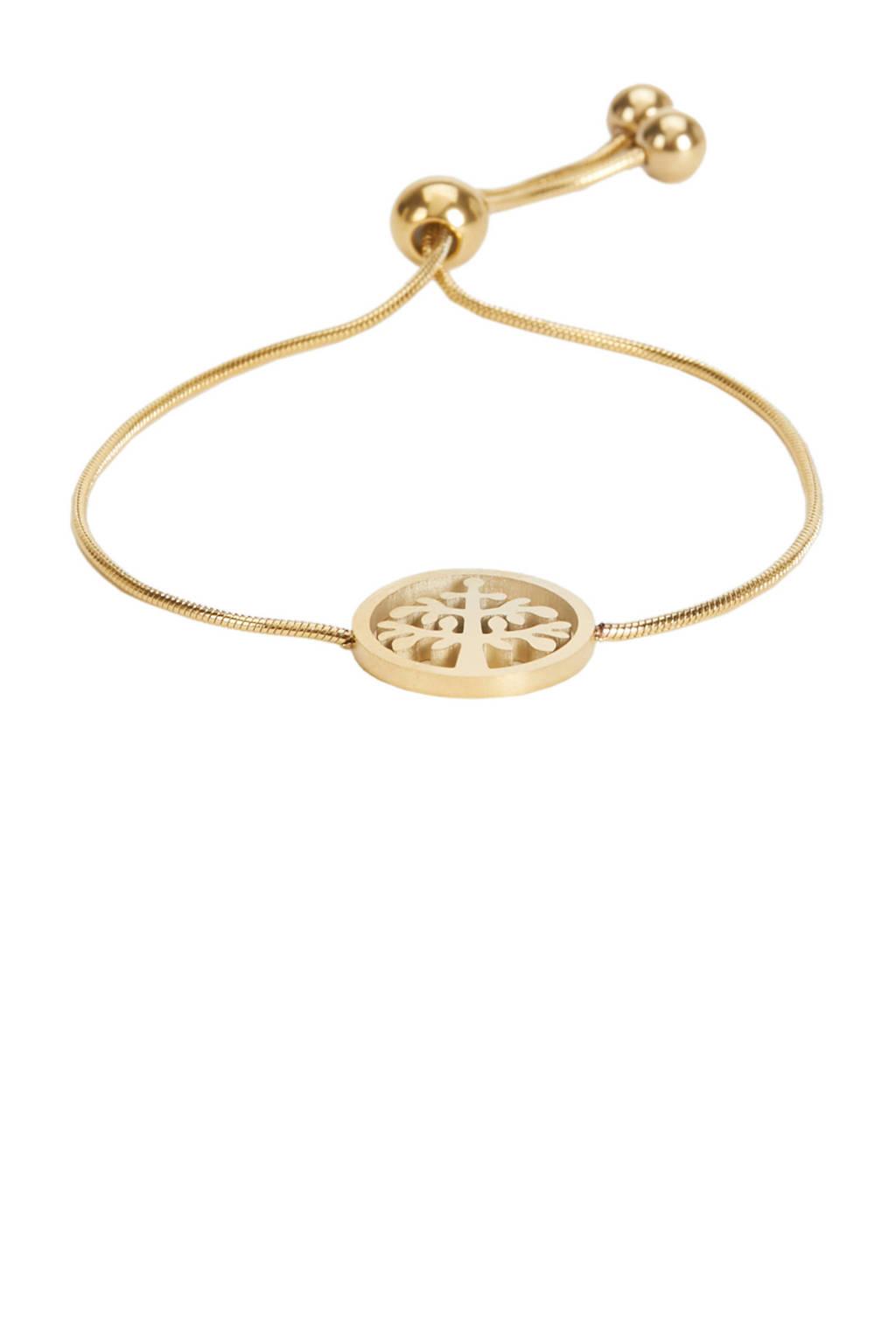 Parfois armband goud, Goud