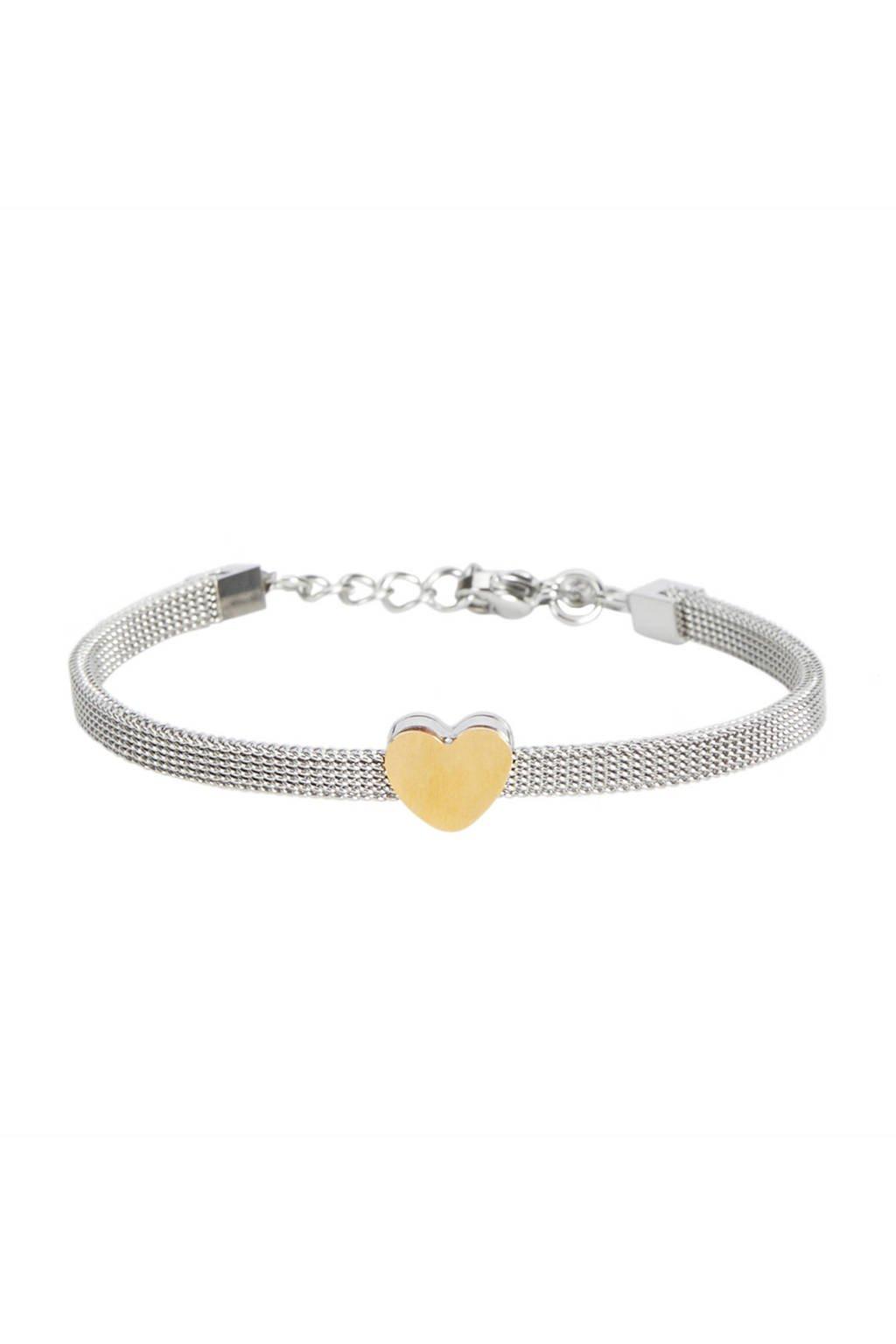 Parfois armband zilver, Zilver/goud