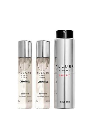 Allure Homme Sport reisverstuiver eau de cologne - 60 ml