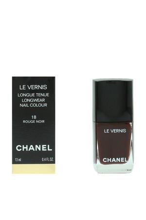 Le Vernis Longwear nagellak - 18 Rouge Noir