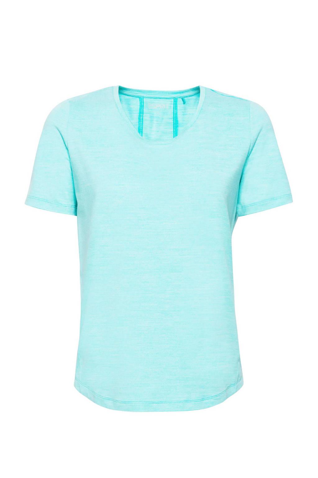 ESPRIT Women Sports T-shirt aqua groen, Aqua groen