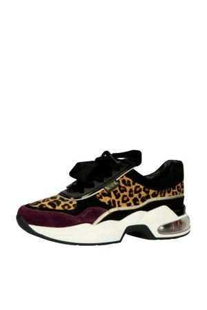 Ventura Low  platform sneakers met panterprint