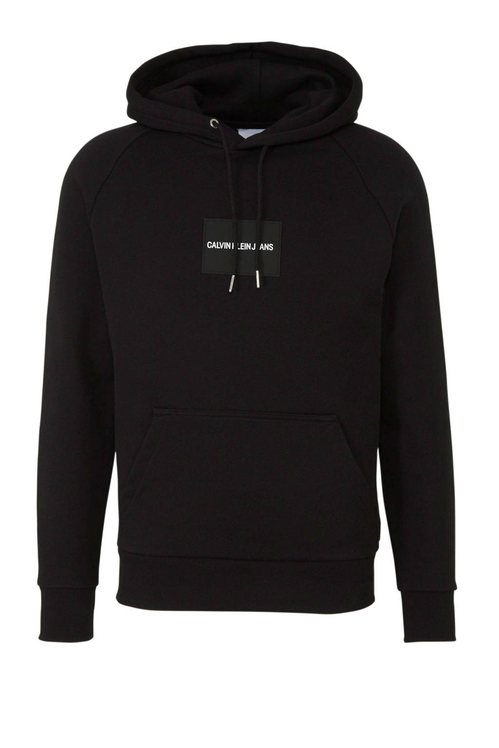 CALVIN KLEIN JEANS hoodie met printopdruk zwart, Zwart