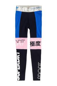 Superdry Sport legging donkerblauw, Donkerblauw