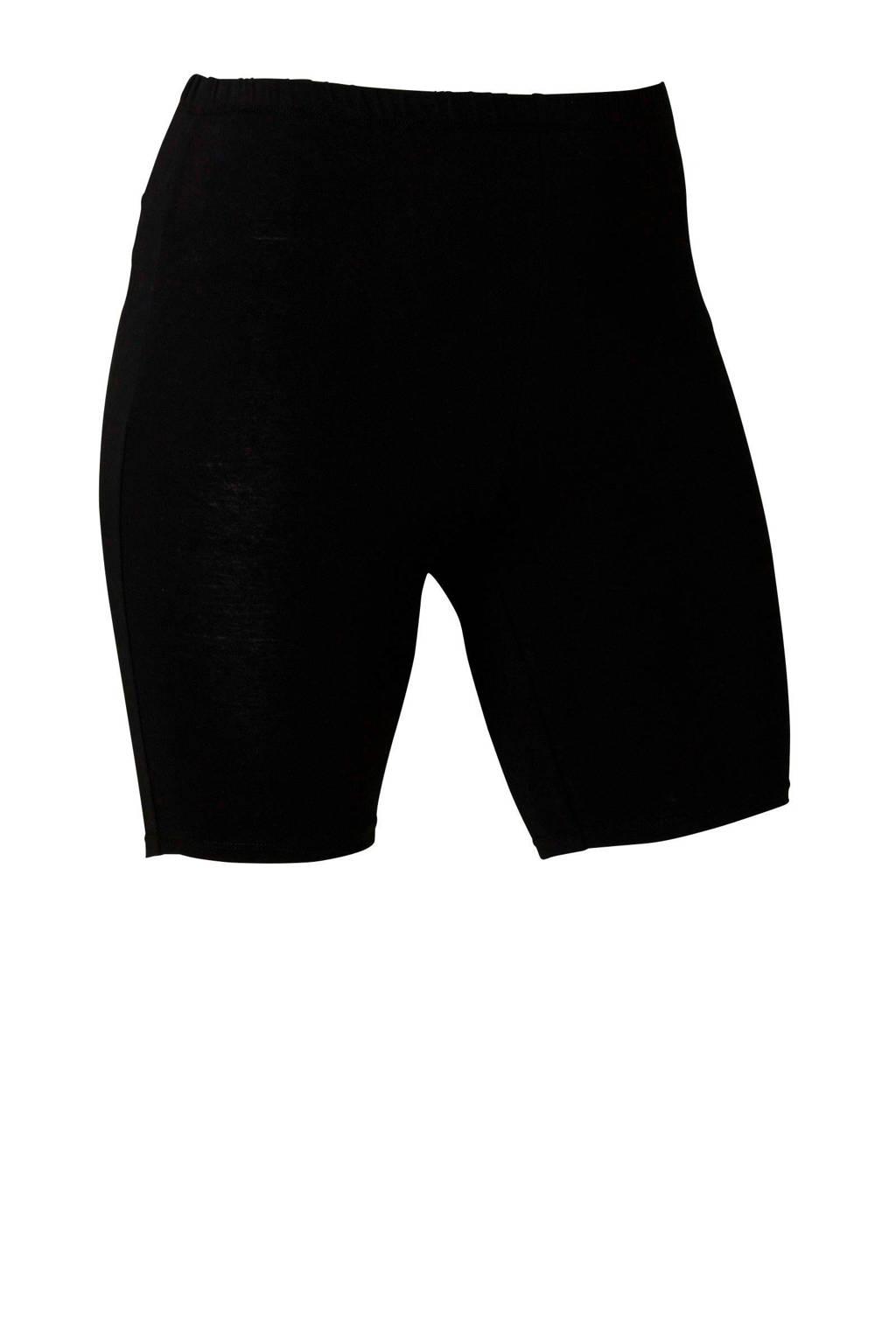 anytime korte legging, Zwart