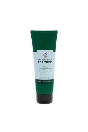 Tea Tree 3-In-1 Wash Scrub masker - 125 ml