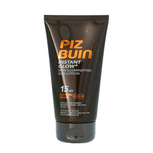 Piz Buin Instant Glow Skin Illuminating Sun Spray Medium SPF15 150ml