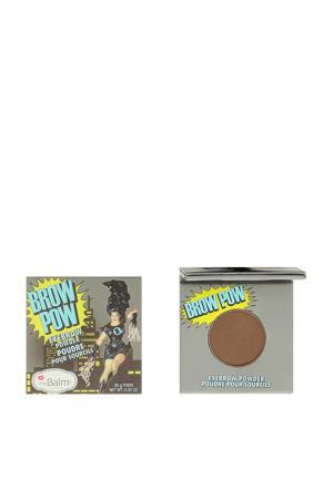 Brow Pow wenkbrauwpoeder - Dark Brown