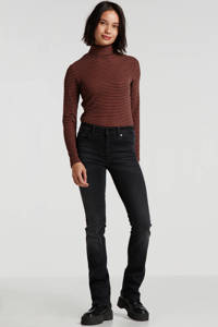 Lois bootcut jeans Melina antraciet, Antraciet