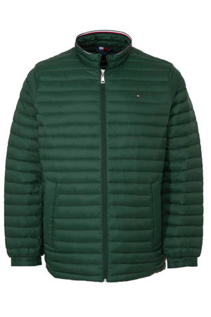 +size tussenjas groen