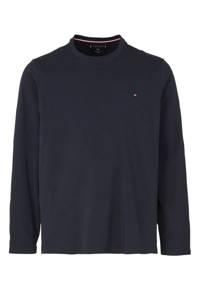 Tommy Hilfiger Big & Tall +size T-shirt met logo donkerblauw, Donkerblauw