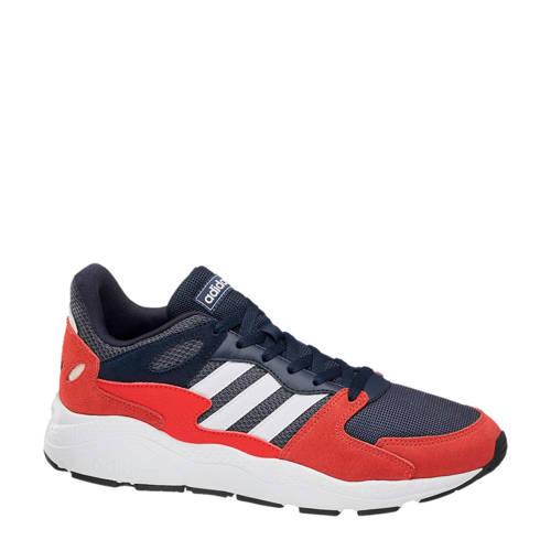 adidas Crazychaos sneakers rood/blauw