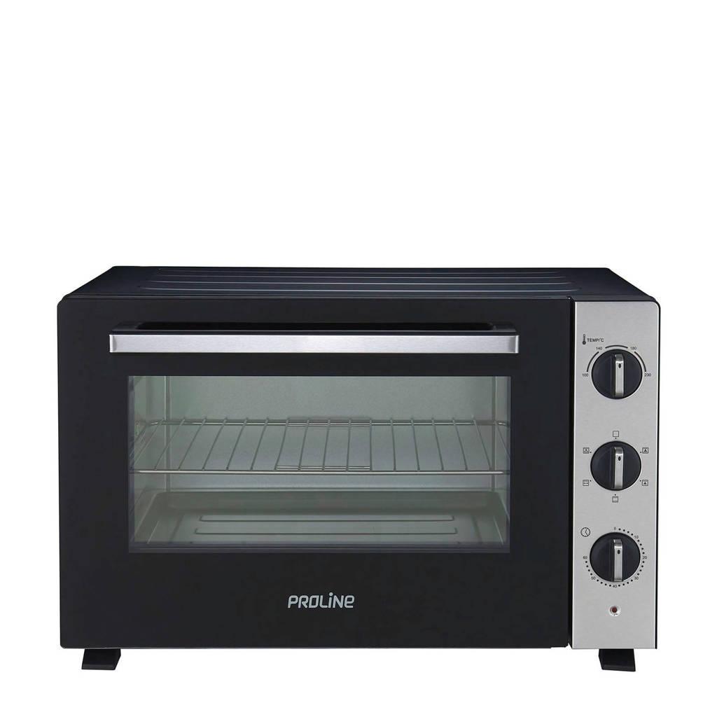 Proline PMF46X mini oven, Zwart, zilver