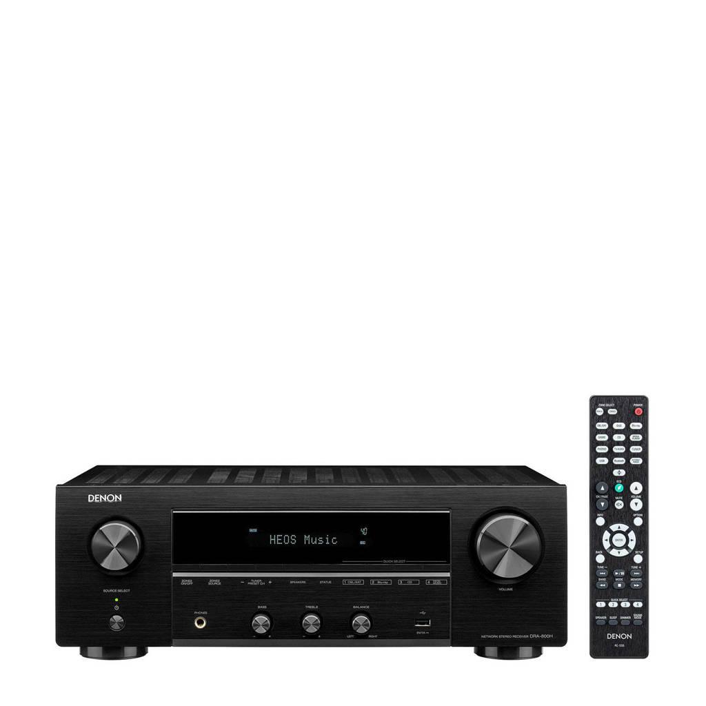 Denon DRA800HBKE2 surround receiver, Zwart