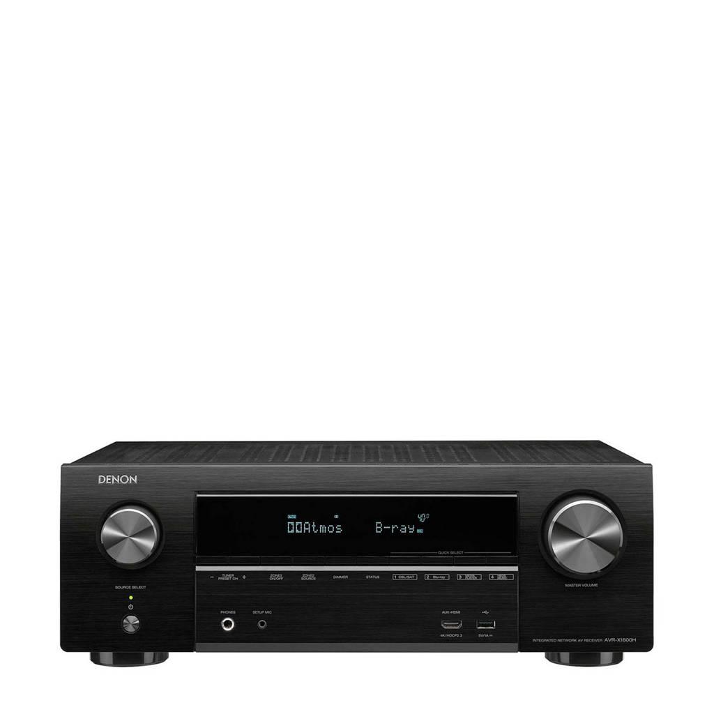 Denon AVRX1600HBKE2 surround receiver, Zwart
