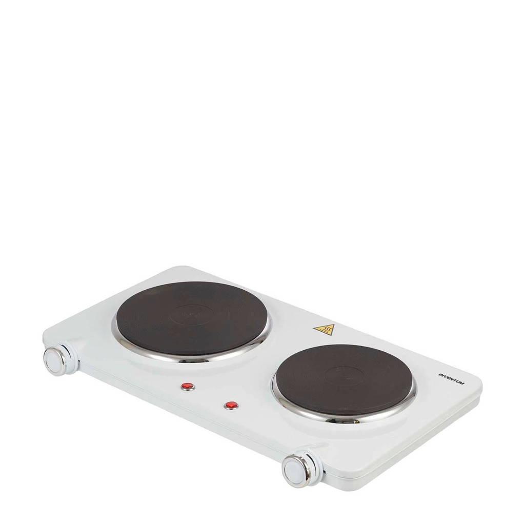 Inventum KP602W elektrische kookplaat, Wit