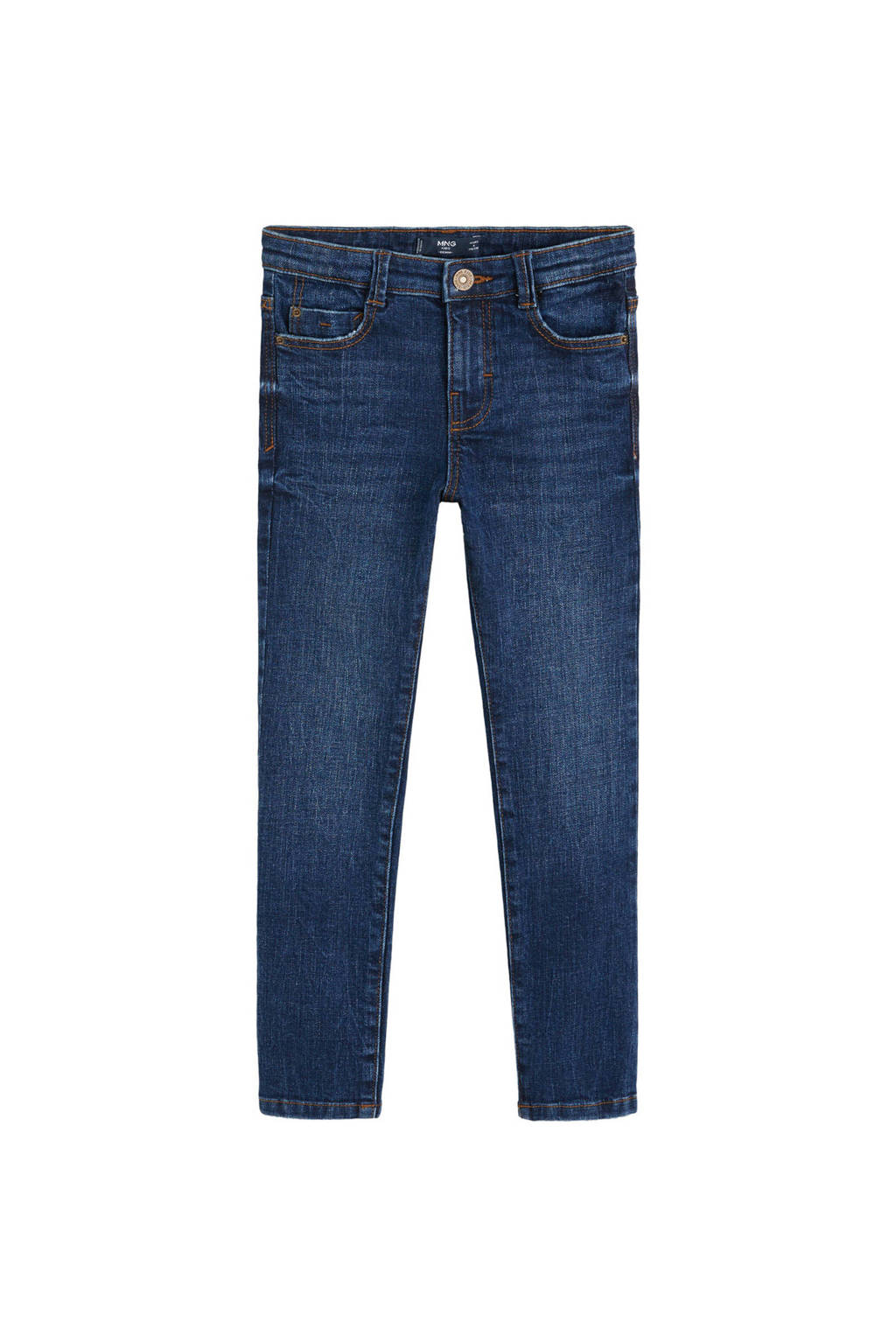 Mango Kids skinny jeans, Dark denim