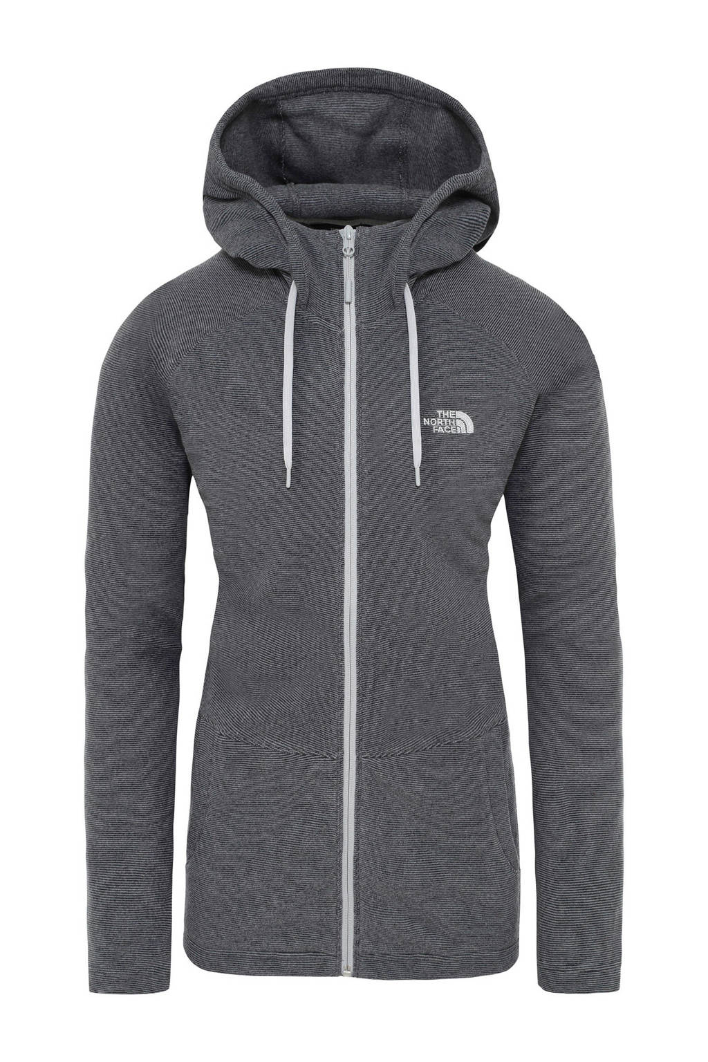 The North Face   hoodie Mezzaluna zwart, Tnf-black-stripe